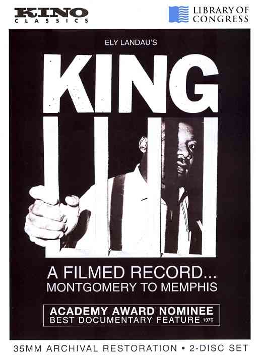KING:FILMED RECORD FROM MONTGOMERY TO BY KING,MARTIN LUTHER (DVD)